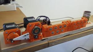 Станок для изготовления пружин и гибки проволоки [чертежи прилагаются]