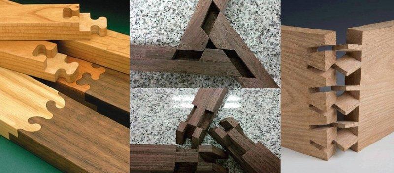 12 необычных способов соединения деревянных заготовок