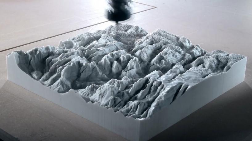 Изготовление скульптуры парка Зион на фрезерном станке с ЧПУ