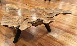 Журнальный столик из капповой плиты