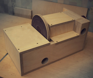 Дисковая и барабанная шлифовальная машина своими руками — портативный станок два в одном