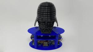Подвижный шлем Дарта Вейдера напечатанный на 3D-принтере [Инструкция + Чертежи]