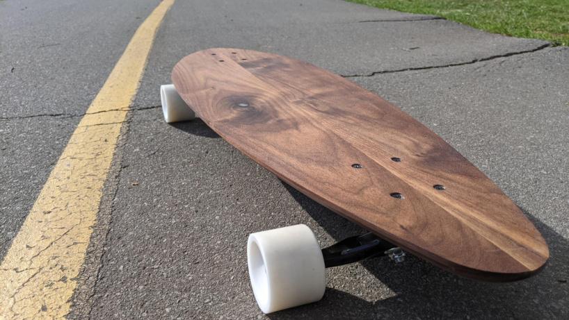 Скейтборд из орехового дерева своими руками