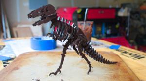 Как разрезать шоколад лазерным станком и создать своего Шокозавра?