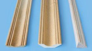 Необычное применение обычного деревянного плинтуса