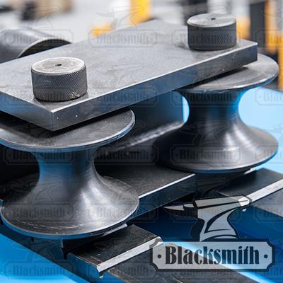 Направляющие валы для гибки круглых труб. TG4 Blacksmith