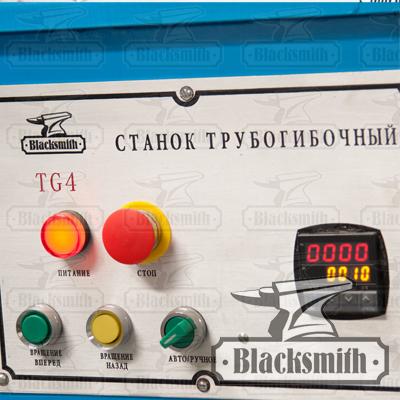Панель управления трубогиба TG4 Blackblack