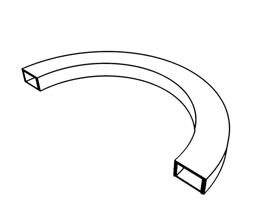 Допустимые размеры для гиба на трубогибе HTB70-80                BlackSmith
