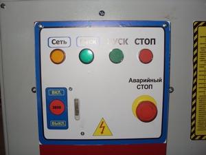 Рейсмусовый станок СР6-20М1, панель управления станка