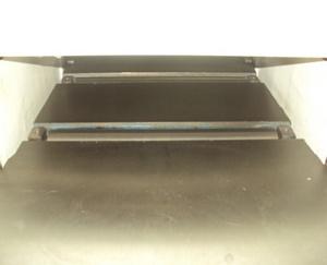 Рейсмусовый станок СР6-20М1, два ролика на рабочем столе