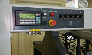 Полуавтоматический сверлильно-присадочный станок FL 213, панель управления