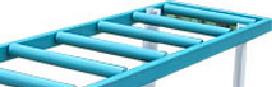 капролоновые втулки для крепления роликов роликового стола РН 2-500 С