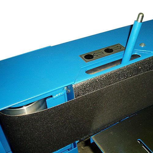 Ленточный шлифовальный станок HB 800. Наклон узла.