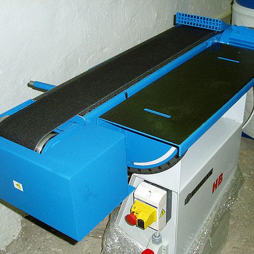 Ленточный шлифовальный станок HB 800. Горизонтальный узел.