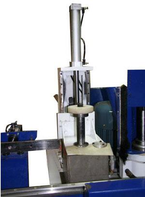 Станок шипорезный односторонний с клеенамазкой Beaver-16AG, устройство для нанесения клея