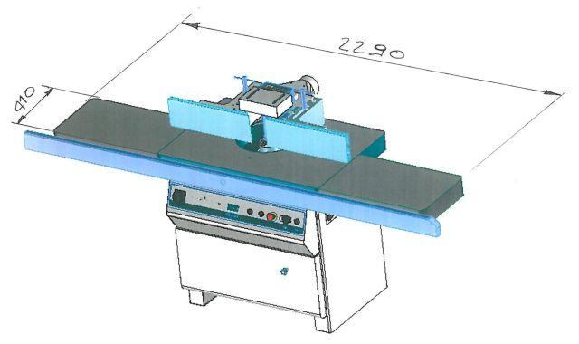 Т 210 TPL - размеры стола