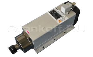 Электрошпиндель 5,5 кВт с воздушным охлаждением + инвертер
