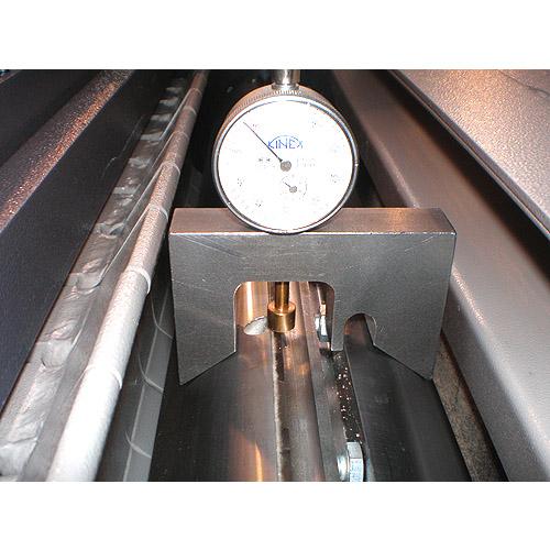 Рейсмусовый станок Castor, индикатор выставления ножей Castor.