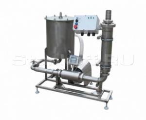 Оборудование для приёма, учета и фильтрации молока ПУФ-15000