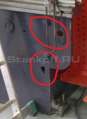 Компенсация прогиба стола (пассивная система бомбирования)