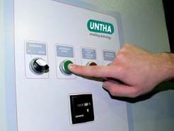 система управления с автоматическим распознаванием инородных тел