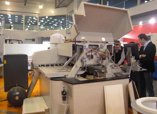 На выставке WOODEX 2011