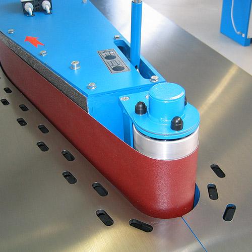 Ленточный кромкошлифовальный станок HBK 3200. Малый ролик.