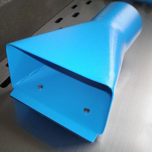 Ленточный кромкошлифовальный станок HBK 3200. Магнитный патрубок.