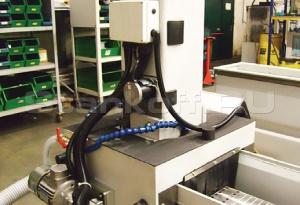 Автоматическое опускание заточного узла