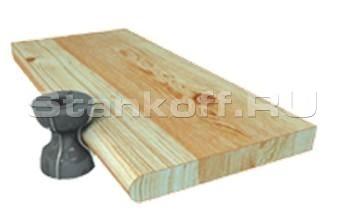 Криволинейное фрезерование по шаблону