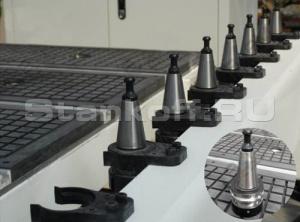 Литейный магазин автоматический смены инструмента на 12 позиций