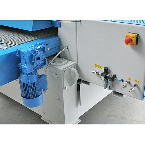 Калибровально-шлифовальный станок Buldog MAXX, блок подготовки воздуха.