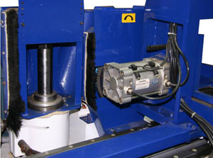 Станок шипорезный односторонний с клеенамазкой Beaver-16AG, высокоточный фрезерный шпиндель