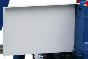 Станок шипорезный односторонний с клеенамазкой Beaver-16AG, защитные кожуха