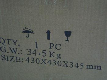 Упаковка станка