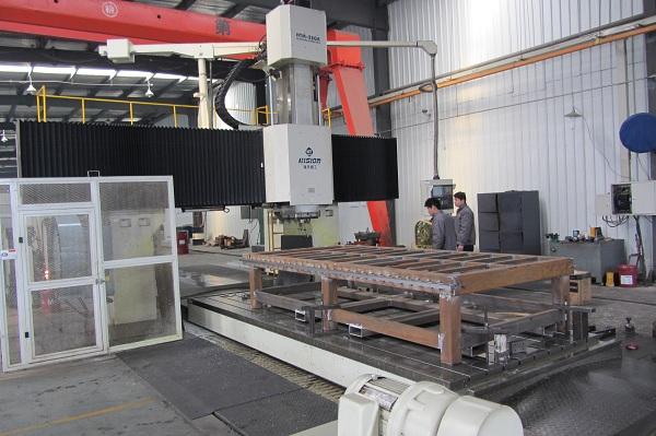 Обработка станины фрезерного станка с ЧПУ