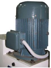 Станок шипорезный односторонний с узлом клеенанесения Beaver-16/AP, привод фрезерного шпинделя