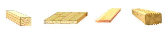 Станок шипорезный односторонний с узлом клеенанесения Beaver-16/AP, пример зарезки шипов и выпускаемая продукция