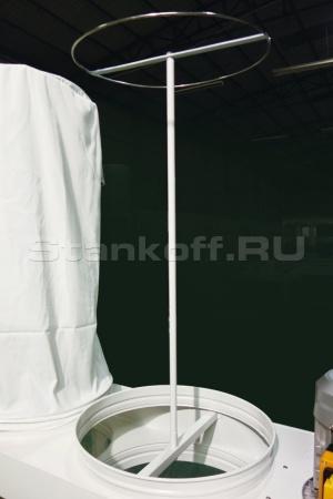 Удобная конструкция для установки фильтрующих мешков