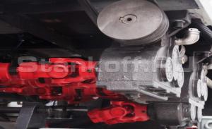 Чугунные редукторы с карданным приводом прижимных роликов