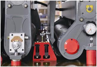 Калибровально- шлифовальный станок SR-RP 1300, прижимные ролики
