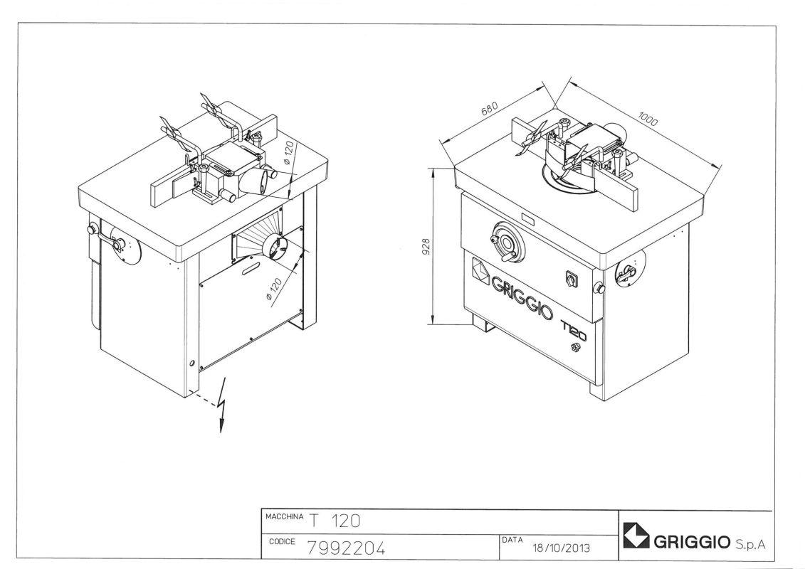 чертеж T 120 БАЗА