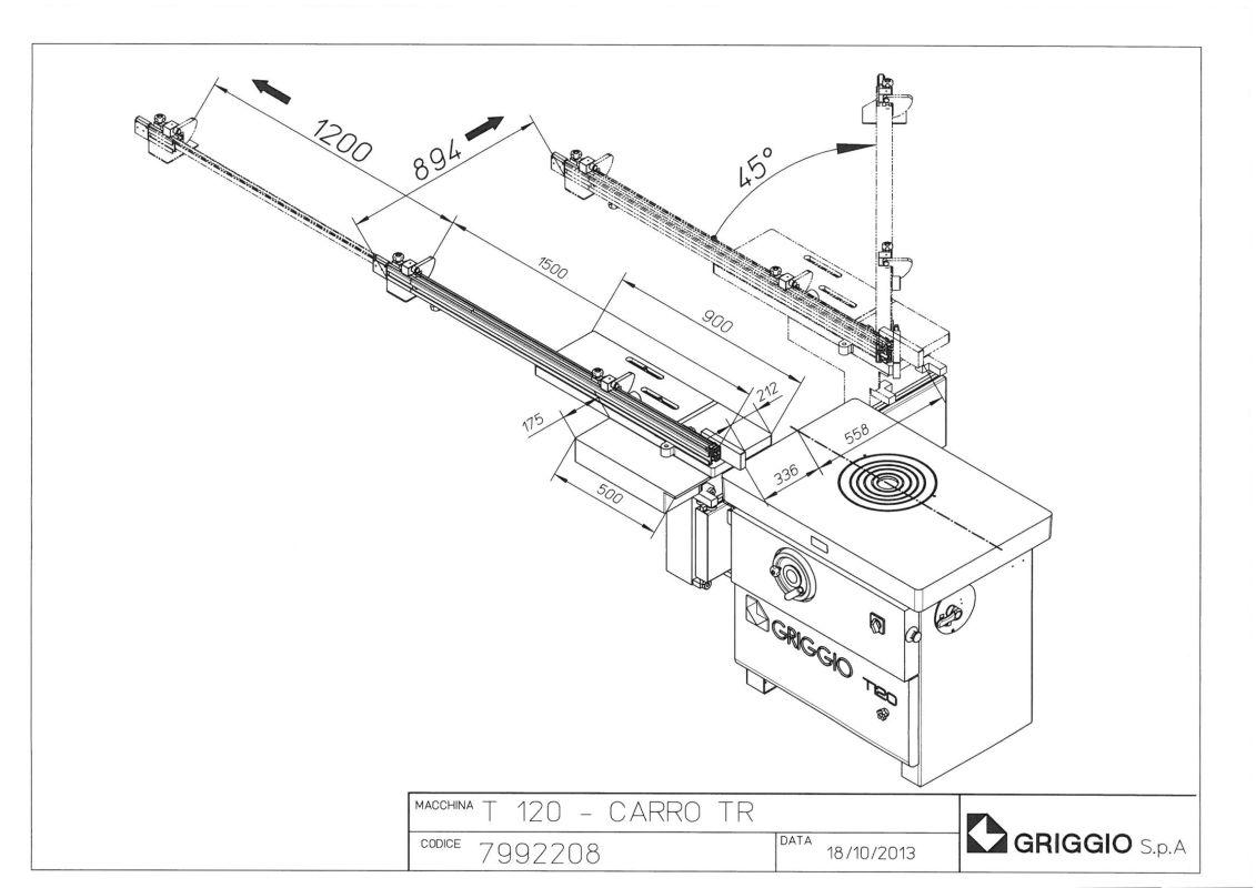 чертеж T 120 TR