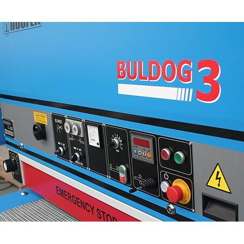 Шлифовальный станок BULDOG 3, панель управления.