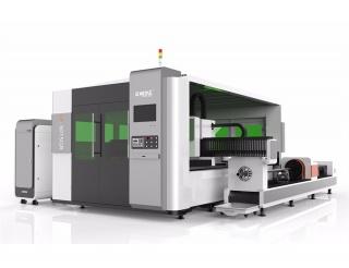Волоконный лазер для резки металла с труборезом и кабинетной защитой LF3015GR/3000 IPG