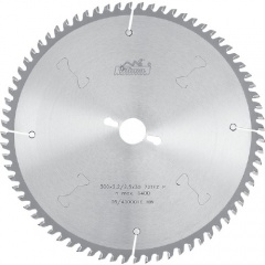 Отрезные диски с твердосплавными напайками для резки цветных металлов и пластика 350 х 3,6/2,8