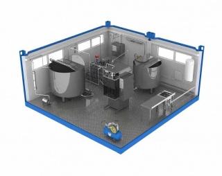 Мини завод для переработки молока ЗПМ-1000ФП