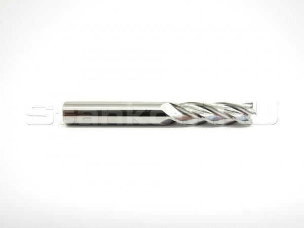 Фреза cпиральная трехзаходная по алюминию, меди, латуни AL3LX12