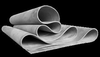 Каучуковая мембрана для вакуумных прессов X-4,0мм х 1600мм/1800мм/2000мм