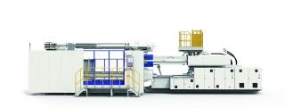 Энергосберегающая двухплитная инжекционно-литьевая гидравлическая машина JU5500III